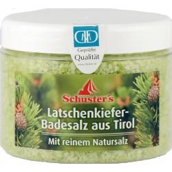 P-PC-S18 Schuster's Latschenkiefer-Badesalz 500g